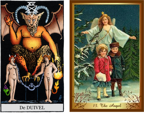 Duivel-The-Angel tarotkaarten