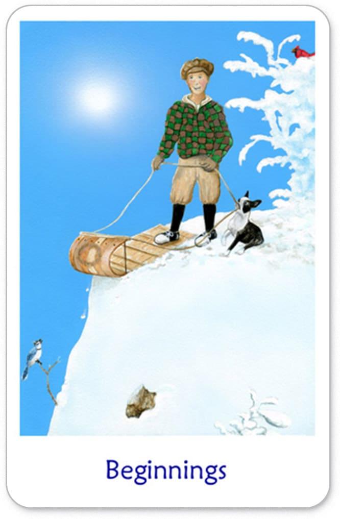 Winterse Tarot De Dwaas