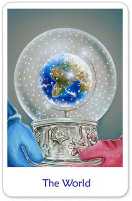 Winterse Tarot De Wereld