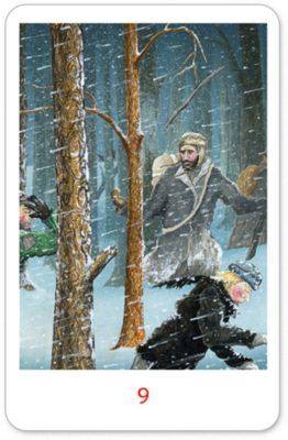 Winterse Tarot Staven 9