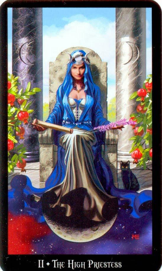 Dugan witches tarot hogepriesteres