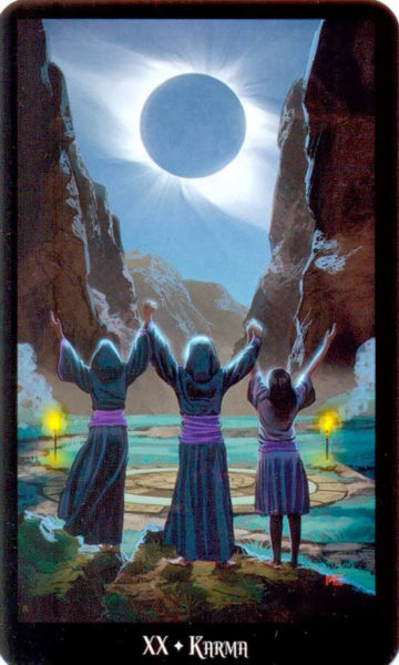 Dugan Witches Tarot Het Oordeel Karma