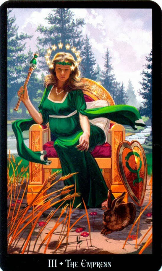 Dugan Witches Tarot Keizerin
