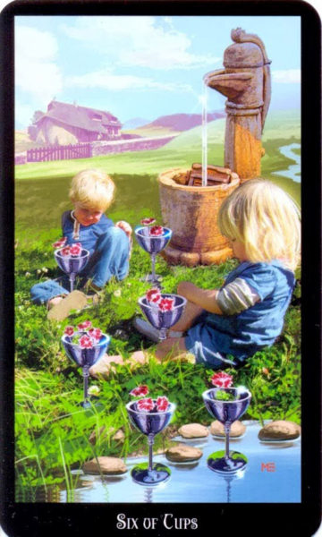 Dugan witches tarot kelken 6