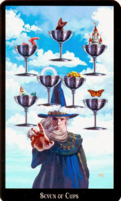 Dugan witches tarot kelken 7