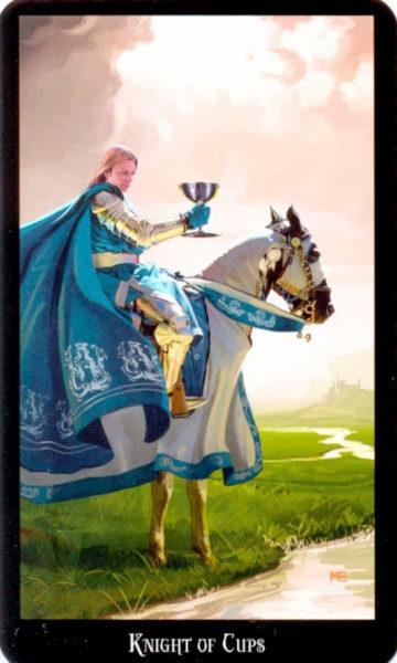 dugan witches tarot kelken ridder