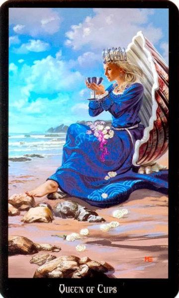 Koningin van Kelken dugan witches tarot