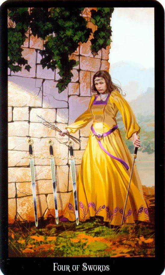 Dugan witches tarot zwaarden 4