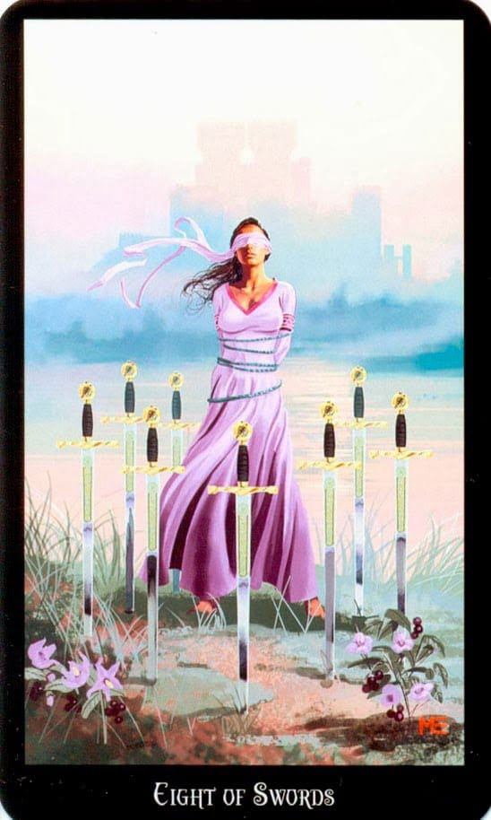 Dugan witches tarot zwaarden 8