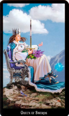 Dugan witches tarot zwaarden koningin