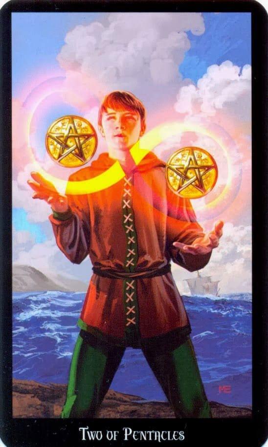 Dugan witches tarot pentakels 2