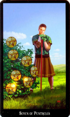 Dugan witches tarot pentakels 7