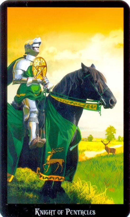 ridder pentakels dugan witches tarot