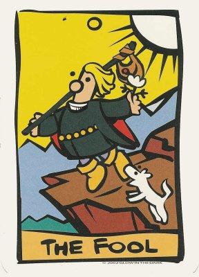 ator dwaas tarot dagkaart