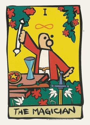 Magiër ator tarot dagkaart
