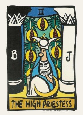 Hogepriesteres ator tarot dagkaart