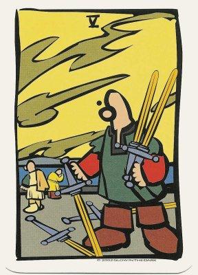ator tarot zwaarden 5