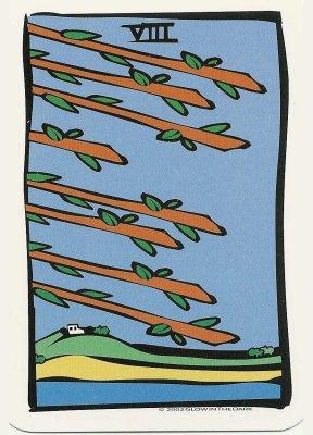Ator tarot staven acht