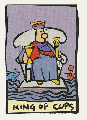Ator Tarot Kelken Koning
