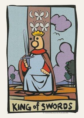 Ator Tarot Koning van Zwaarden