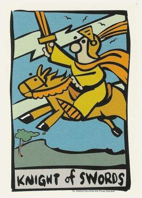 ator tarot zwaarden ridder