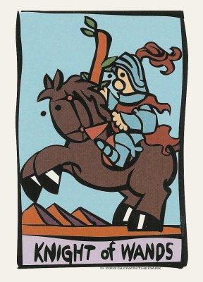 Ator tarot Staven ridder