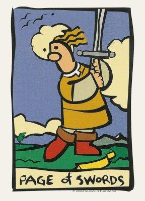 ator tarot page van zwaarden tarot trekken