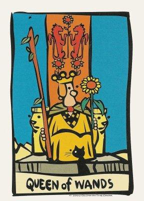 Ator Tarot Koningin Staven