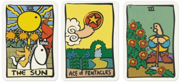 De Atot tarot stelt zich voor tarotlezing
