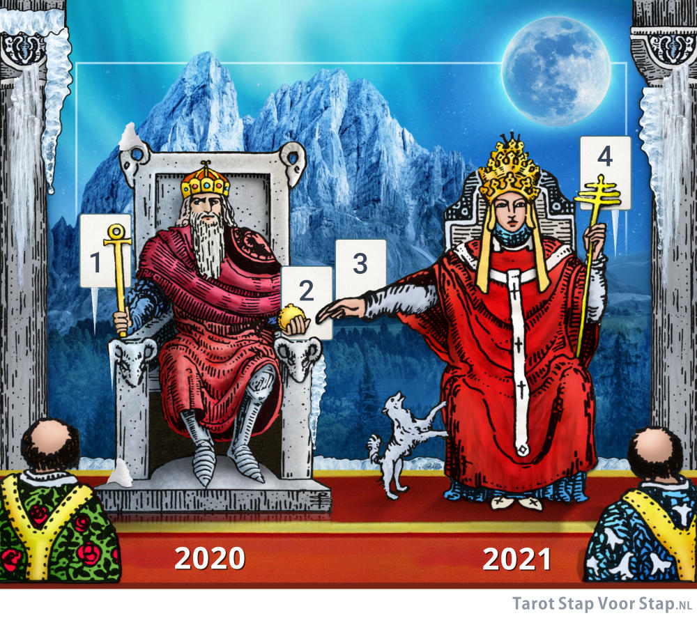 tarot en volle maan december 2020