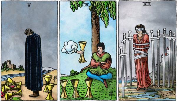 tarotkaart zwaarden vijf en je verhaal