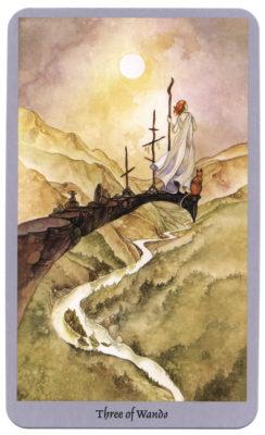 tarotkaarten trekken staven 3 shadowscapes
