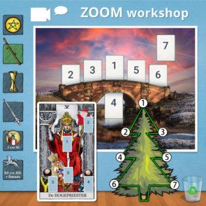 tarot workshop via Zoom voor kerst sinterklaas en brug