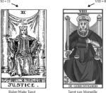 Kracht en Gerechtigheid, nummering van Arthur Waite