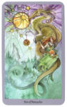 Shadowscapes Tarot - Pentakels 10